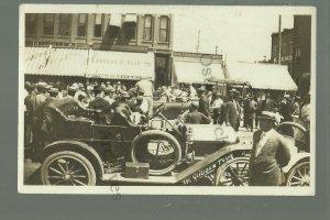 Rochester MINNESOTA RP 1910 THE GLIDDEN TOUR Automobile Race Car Cars Autos