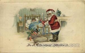 Santa Claus Postcard Post Cards