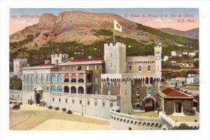 Le Palais Du Prince Et La Tete De Chien, Monaco, 1900-1910s
