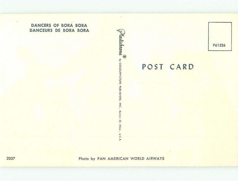 Pre-1980 NICE VIEW Bora Bora - Pora Pora French Polynesia i3985