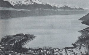 LAKE WAKATIPU, New Zealand, 1900-1910's; Queenstown