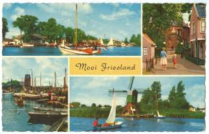 Holland, Netherlands, Mooi Friesland, 1963 used Postcard