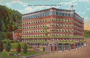 Arkansas Eureka Springs Basin Park Hotel Curteich