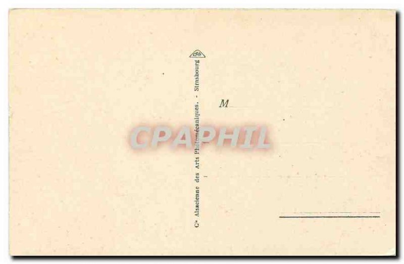 Old Postcard Gerardmer Belvedere Roche Devil