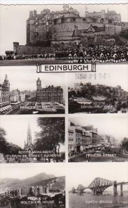 Scotland Edinburgh Multi View 1961 Photo