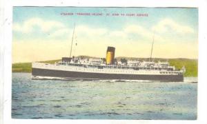 Steamer Princess Helene St. John To Digby Service, 1900-1910s