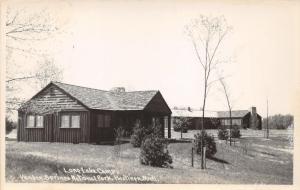 Hastings Michigan~Yankee Springs National Park~Lone Lake Camp~1950s RPPC