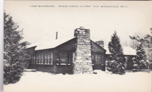 Michigan Middleville Camp Michawana Where Christ Is First sk2724