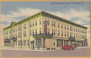 Franklin, PA., The Exchange Hotel -