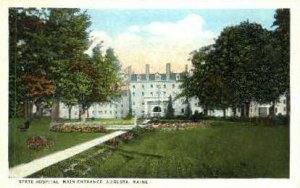 State Hospital in Augusta, Maine