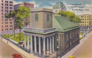 Kings Chapel Tremont Street Boston Massachusetts