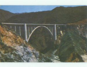 Unused Pre-1980 BRIDGE SCENE Monterey California CA HQ9124
