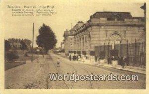 Musee du Congo Belge Tervueren, Belgium Unused