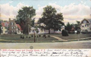Corner Lenox And Douglas Roads, New York, PU-1907