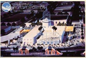 Louisiana World Exposition, 1984 - Vatican Pavilion