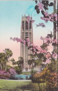 Florida Lake Wales Singing Tower In Springtime Mountain Lake Sanctuary Handco...