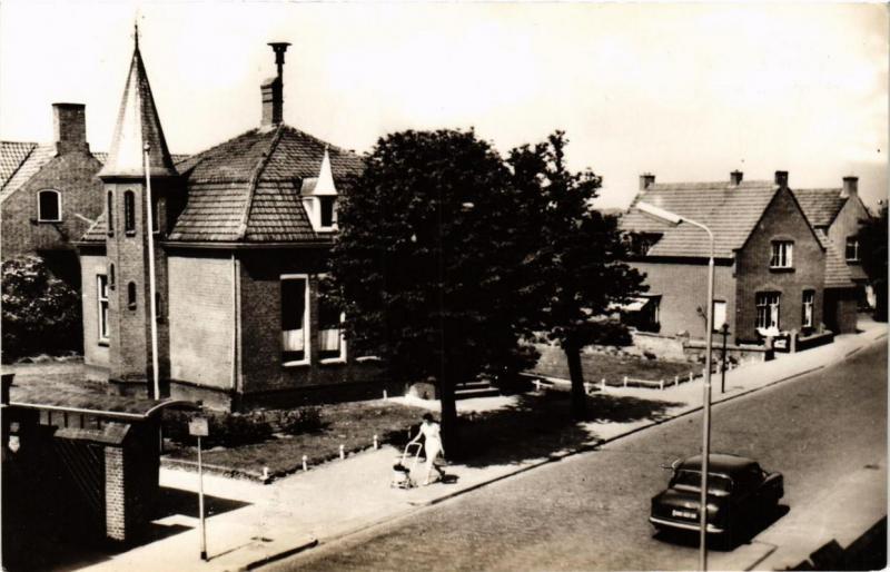 CPA Valkenburg- Hooldstraat met Gemeentehuis. NETHERLANDS (714363)