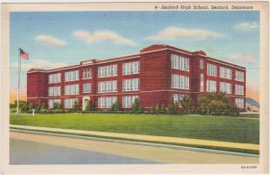 Seaford High School, Laurel, Delaware, 30-40s