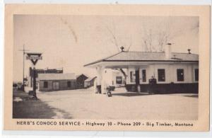 Herb's Conoco Service Station, Big Timber MT
