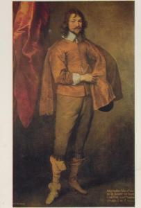 Sir Anthony Van Dyck Arthur Goodwin MP Devon Art Chatsworth Painting Postcard