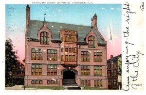 Rhode Island Providence , Pembroke Hall , Brown University
