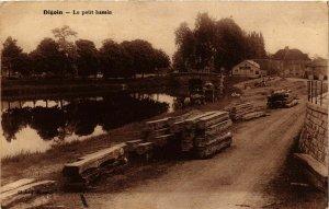 CPA Digoin Le petit bassin FRANCE (952814)