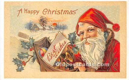 Christmas Holiday Reproduction Unused
