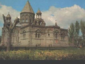 113184 ARMENIA Echmiadzin Cathedral OLD POSTAL stationery