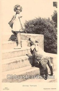Shirley Temple Postcard # 2918 unused