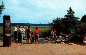 Minnesota Bemidji Headwaters Of The Mississippi River 1964