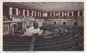 Hall Of Representatives Wahington D C