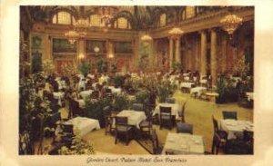 Garden Court, Palace Hotel - San Francisco, CA