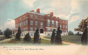 Massachusetts  East Weymouth,   High School,
