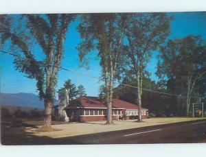 Pre-1980 RESTAURANT SCENE North Conway New Hampshire NH hk5138