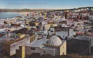 Tanger , Morocco, 00-10s ; Vista de la poblacion y tumba de un Santo