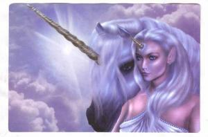 Unicorn Fantasy Postcard, #4