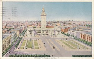 Civic Center - Rochester NY, New York - Artist Concept ? - pm 1913 - DB