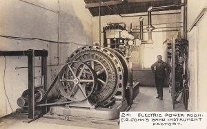 RP, ELKHART , Indiana, 1900-10s ; CONN Music Factory , Power Room