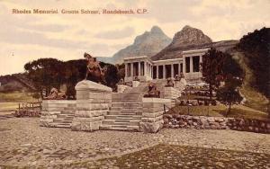 South Africa Cape Town, C.P. Rondebosch, Rhodes Memorial Groote Schuur