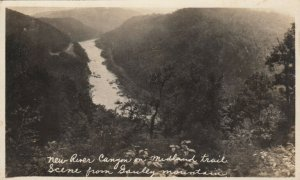 RP, WEST VIRGINIA, 1910s; New River Canyon on Midland Trail from Gauley Mountain