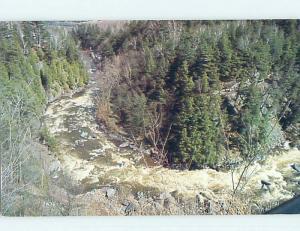 Pre-1980 TOWN VIEW SCENE Coaticook Quebec QC p9924