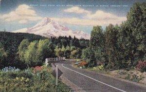 Mount Hood From Mount Hood Loop Highway In Scenic Mount Hood Oregon