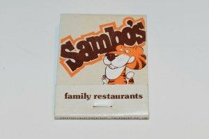 Sambo's 20 Strike Matchbook