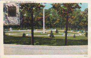 New Jersey Vineland Memorial Circle