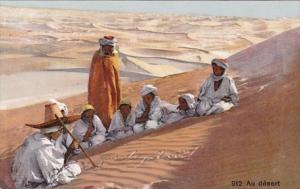 Algeria Bedouins Au Desert