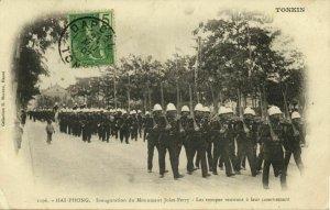 indochina, TONKIN, HAI-PHONG, Inauguration du Monument Jules Ferry (1907)