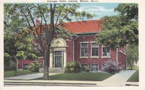 Carnegie Library , MARION , Illinois , 1910s