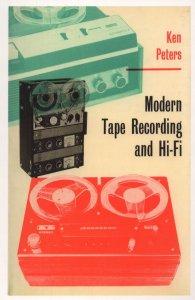 Ken Peters Modern Tape Recording & Hi Fi 1967 Book Postcard