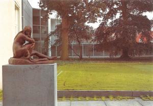 Netherlands 's-Hertogenbosch, Noordbrabants Museum, Eva Door Statue