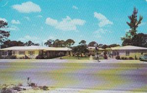 Florida Lake Worth Evelyns Apartment Court 1952